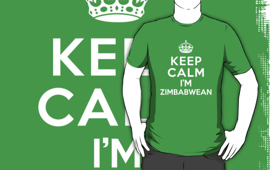Keep Calm Im Zimbabwean