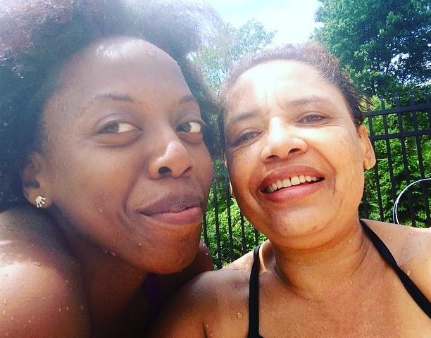 Elaine Salo Fungai Machirori Selfie